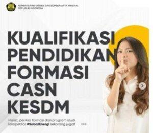 CPNS ESDM 2021