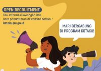 Lowongan Kerja Program Kotaku Kementerian PUPR